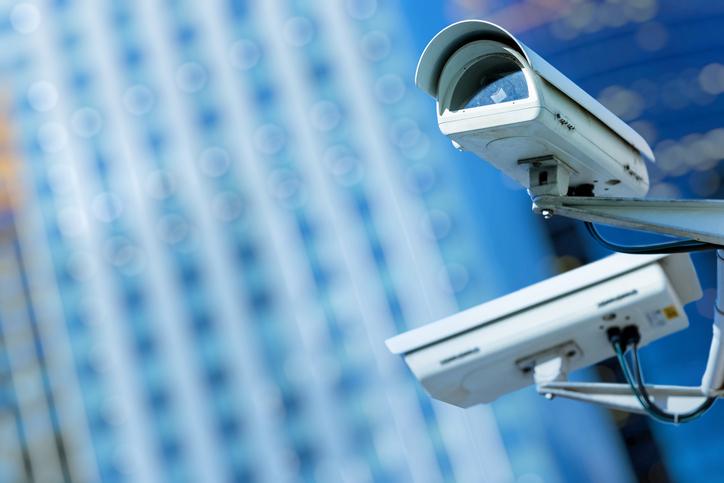 Gebäude-Überwachung mithilfe von Netzwerkkameras